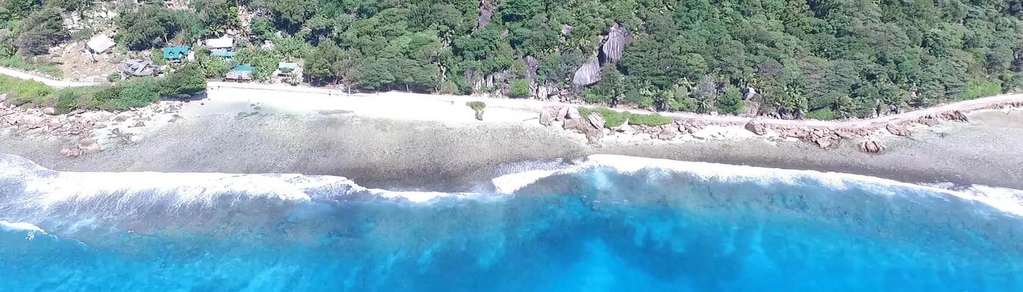 anse-banane, Beaches in Seychelles Islands