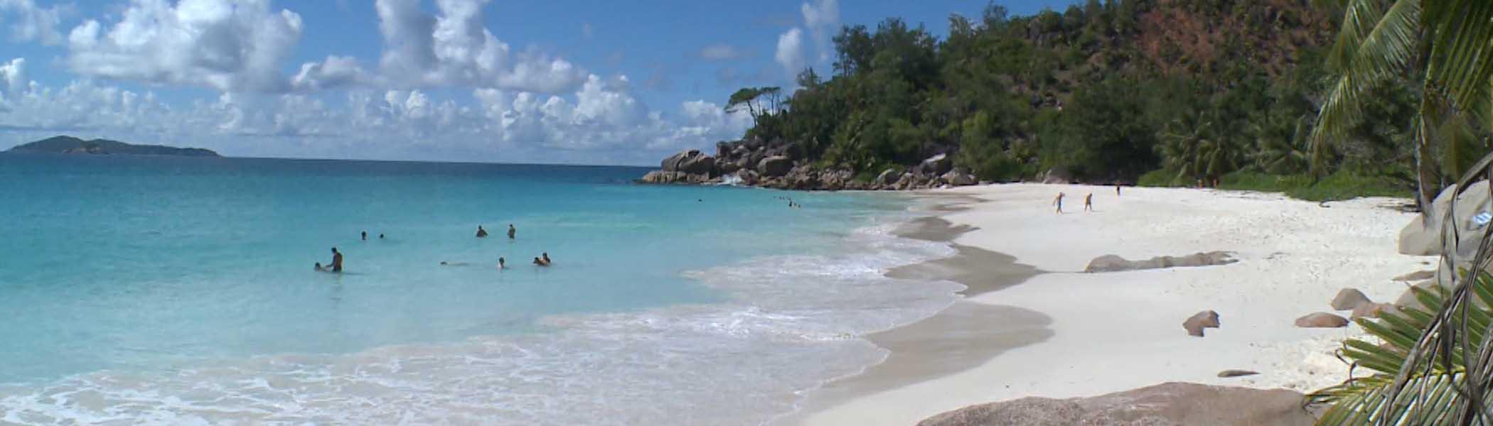 anse-georgette, Beaches in Seychelles Islands