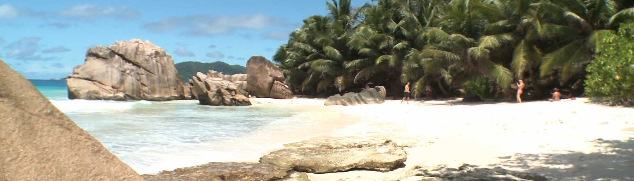 anse-patates, Beaches in Seychelles Islands