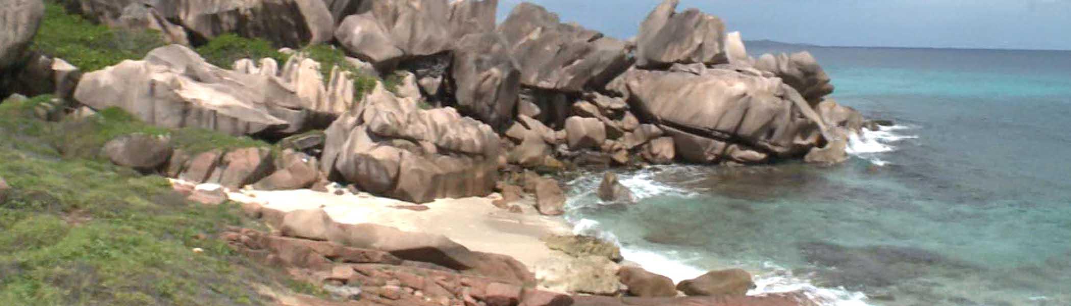 anse-songe, Beaches in Seychelles Islands