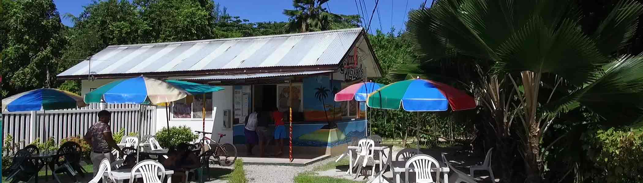 island-pizzeria, Bars and restaurants in Seychelles Islands