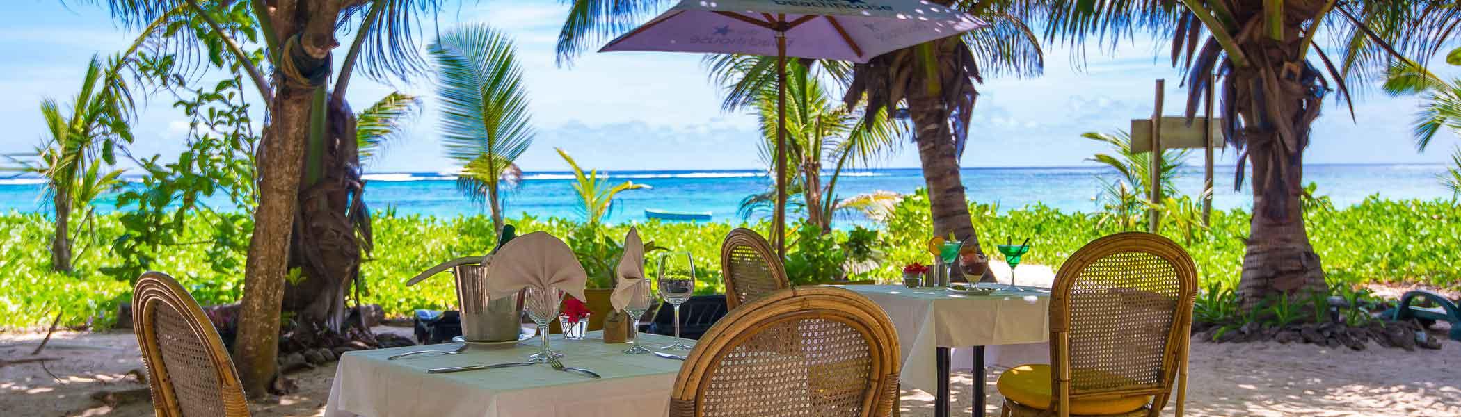 les-dauphins-heureux, Bars and restaurants in Seychelles Islands