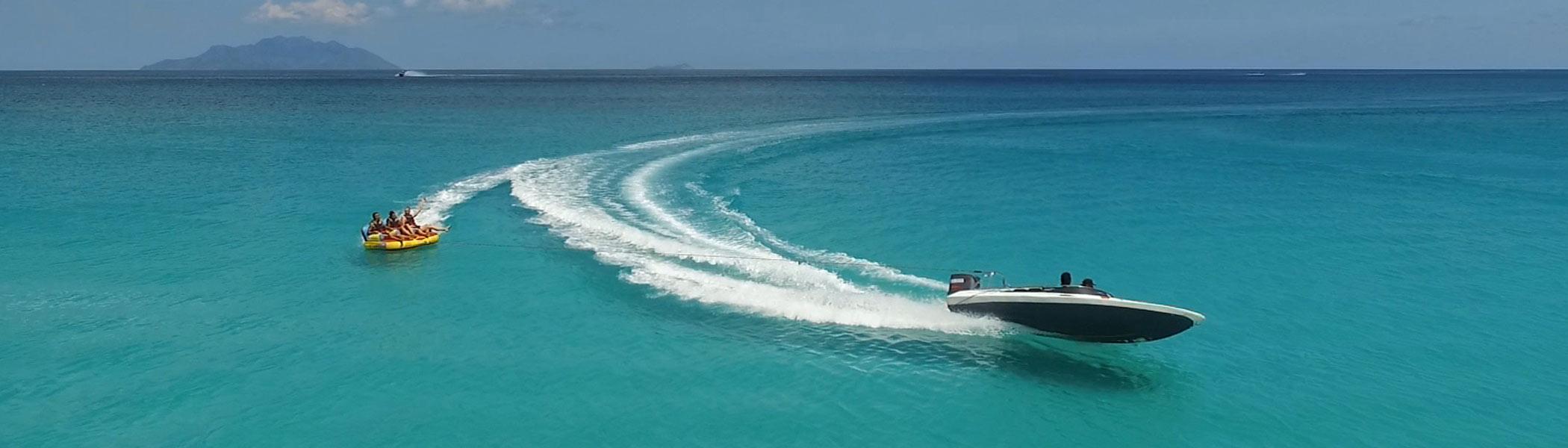 mamila-watersport, Watersports in Seychelles Islands