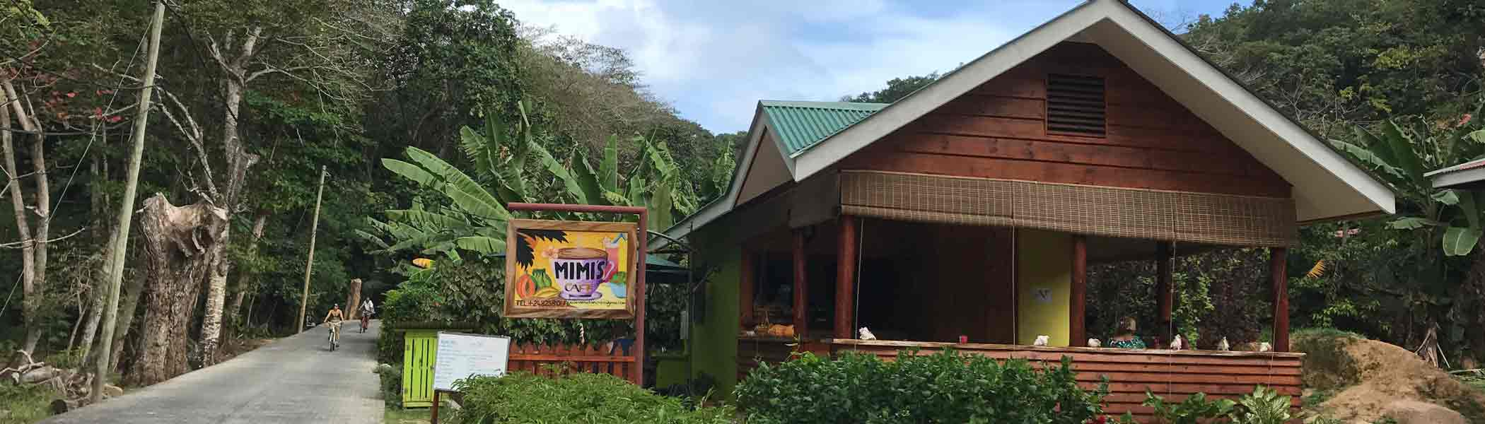 mimis-cafe, Bars and restaurants in Seychelles Islands