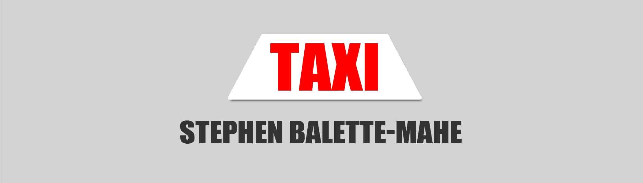 stephen-balette, Taxis in Seychelles Islands