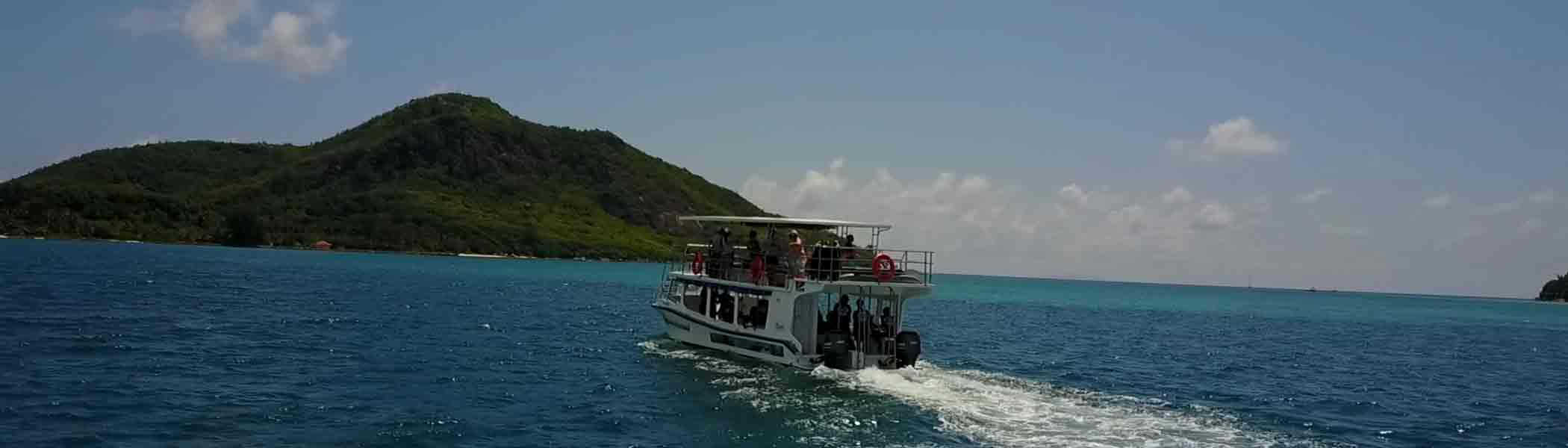 teddys-glass-bottom-boat, Boat Charters in Seychelles Islands