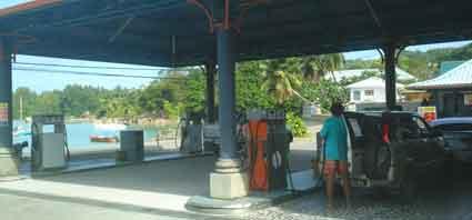 Petrol Station - Baie Sainte Anne - Praslin