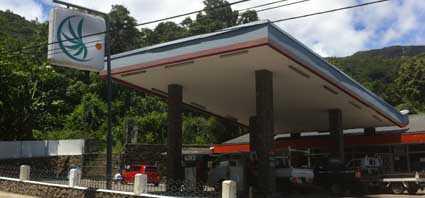 Petrol Station - Beau Vallon - Mahe